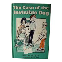 The Case Of The Invisible Dog Vintage Childrens Reading Book
