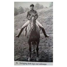 Centered Riding Equestrian Riding Book Vintage Horse Book