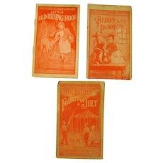 Red Riding Hood Biddy and Paddy and The Tuttles Fourth Of July Faultless Starch Premium Books Vintage Advertising
