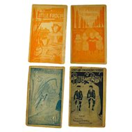 Faultless Starch Childs Booklets Vintage Advertising Paper Ephemera