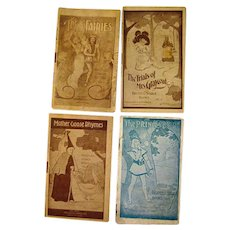 Set Of Four Advertising Pamphlets Childrens Books By Faultless Starch
