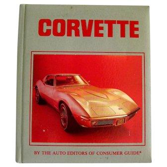 Vintage Auto Book CORVETTE With Full Color Photographs - Vintage Automobiles