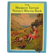 Vintage Childrens Book THE MARGARET TARRANT NURSERY RHYME BOOK 1980s Edition Kids Books With Full Color Illustrations