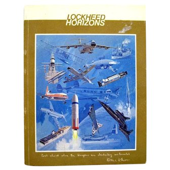 Vintage Aviation History LOCKHEED HORIZONS Issue 12 With NASA Photographs and Aerospace Engineering History