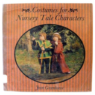 Vintage Costume Pattern Book COSTUMES FOR NURSERY TALE CHARACTERS Props and Costume Patterns