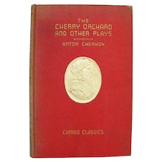 Cameo Classics Book THE CHERRY ORCHARD Plays by Anton Chekhov With Wood Engravings by Howard Simon 1930s Russian Plays