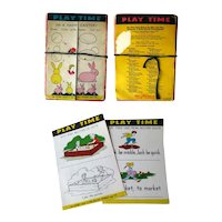 1950s Activity Pack PLAY TIME for Nursery to Primary Grades RARE Activity Book