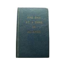 Al-Anon One Day At A Time Vintage Book - Serenity Prayer