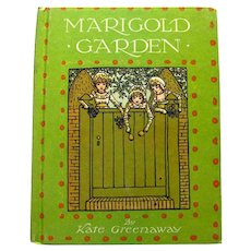 Kate Greenaway Poetry Book MARIGOLD GARDEN 1970s Childrens Book