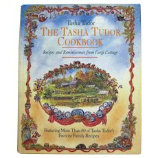 First Edition TASHA TUDOR COOKBOOK Collectible Cook Book With Watercolor Illustrations