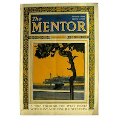 The Mentor November 1924 With West Indies Travel Articles - Vintage Magazine - Nature Magazine