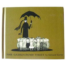 Gashlycrumb Tiniees Alphabet Book by Edward Gorey Vintage Illustrated Book
