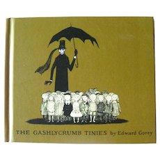 Gashlycrumb Tiniees Alphabet Book by Edward Gorey Vintage Illustrated Book