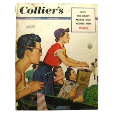 Vintage Magazine COLLIERS 1952 Chicago Cubs Article - Fiction Magazines