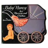 Queen Holden Paper Dolls BABY NANCY Her Nursery And Clothes - Uncut Paperdolls