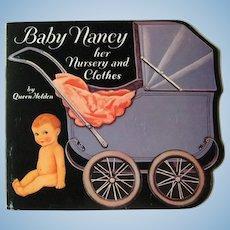 Queen Holden Paper Dolls BABY NANCY Her Nursery And Clothes - Uncut Paperdolls