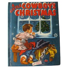 Holiday Wonder Book A Little Cowboy Christmas - Western Christmas