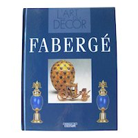 French Language Book L'Art De Faberge -The History Of Faberge With Full Color Photos