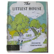 Rare Childrens Book THE LITTLEST HOUSE by Elizabeth Coatsworth - Collectible Books
