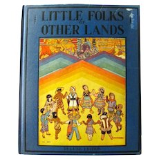 Watty Piper Book Little Folks Of Other Lands - Platt and Munk Kids Books 1940s