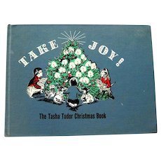 Take Joy by Tasha Tudor - Illustrated Holiday Book - Christmas Gift - Holiday Traditions