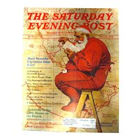 Saturday Evening Post With Norman Rockwell Cover November 1976 - Vintage Magazine - Vintage Advertising