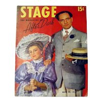 1930s Stage Magazine With Hollywood Photos - New York Night Life Magazine - Theater Magazine - Vintage Advertising
