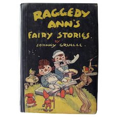 Raggedy Ann's Fairy Stories by Johnny Gruelle - Collectible Childrens' Books - 1928 Donohue Edition