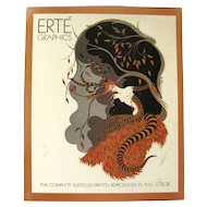 Art Prints Book ERTE - Graphic Design - Alphabet Illustrations