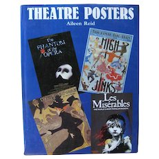 Theater Posters by Aileen Reid Full Color Reproductions of Vintage Theatre Posters - Art History Book