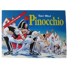 Pop Up Book PINOCCHIO A Tony Wolf Tormont Book - Childrens Popup Book