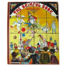 The Brimful Book by Watty Piper Illustrated by Eulalie - 1930s Deluxe Edition - Nursery Rhymes and More