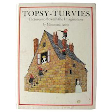The Topsy Turvies by Mitsumasa Anno Illusion Art Pictures - MC Escher Style Illustrations