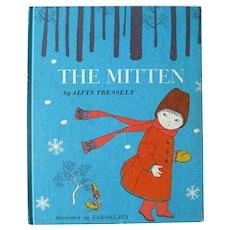 THE MITTEN Vintage Children's Book - Illustrated Kids Books