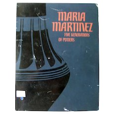 MARIA MARTINEZ Ceramic Artist Art Show Catalogue - Native American Art - Art Lover's Gift