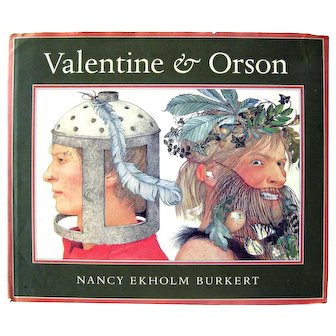 Vintage Folktale VALENTINE AND OLSON - Children's Books - First Edition Collectible Book