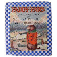 Paddy Paws Four Adventures Vintage Kids Book - Collectible Children's Book