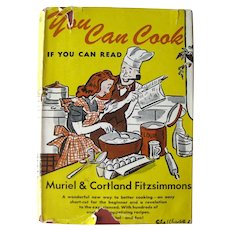 You Can Cook If You Can Read Collectible Cookbook - Learn To Cook - Food Lover's Gift