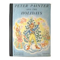 Peter Painter and the Holidays - Vintage Children's Book - Illustrated Kid's Books