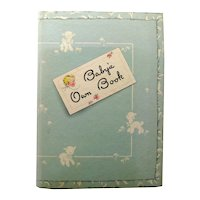 BABY'S OWN Memory Book - Baby Shower GIft - New Baby Gift