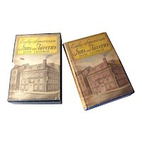 EARLY AMERICAN INNS AND TAVERNS American History Book - Collectible Books - Book Lovers Gift