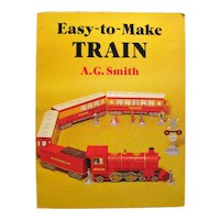 EASY TO MAKE TRAIN Dover Publishing Vintage Train Toy To Make - Collectible Railroadiana