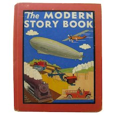 RARE Children's Book THE MODERN STORY BOOK by Wallace Wadsworth Illustrated by Ruth Eger - Collectible Book - Kids Books