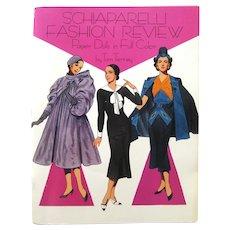 Fashion History Paper Dolls SCHIAPARELLI FASHION REVIEW Tom Tierney Illustration for Dover Publishing