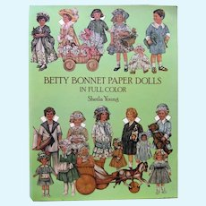 BETTY BONNET Paper Dolls by Sheila Young Dover Publications - Collectible Paper Dolls