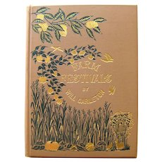 FARM FESTIVALS by Will Carleton Antique Poetry Book - Rural American Life - History Book