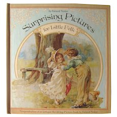 SURPRISING PICTURES For Little Folk by Ernest Nister Victorian Intaractive Book