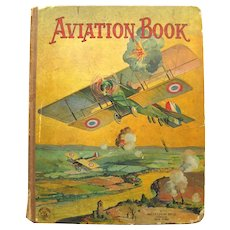 AVIATION BOOK Rare Collectible Airplane History Book - Fathers Day Gift