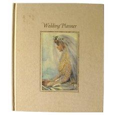 Wedding Planner Vintage Art Illustrated Wedding Guide and Keepsake Book - Bridal Shower Gift