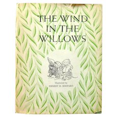 The Wind In The Willows 1961 Edition Collectible Kids Book With Dust Jacke